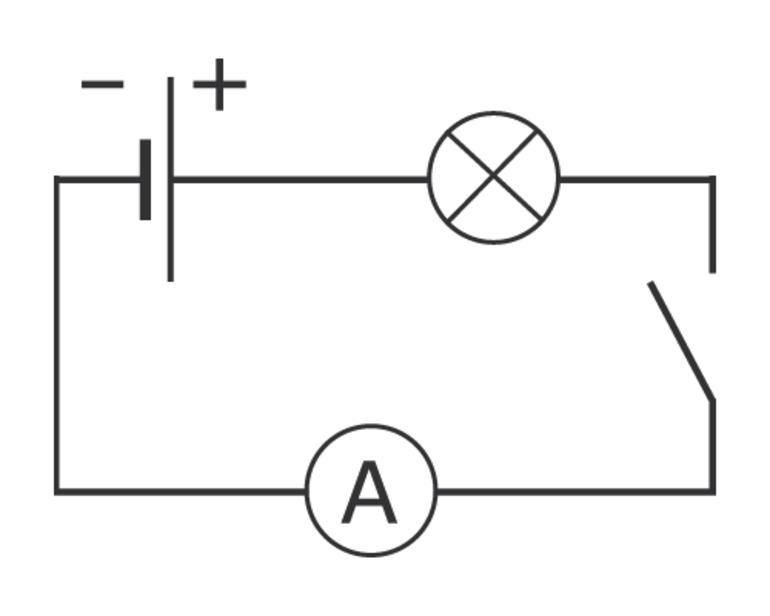 Открытая электрическая цепь