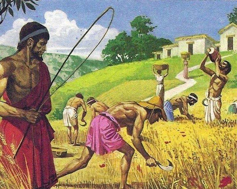 картинки рабы древнего рима перевернуто вверх дном