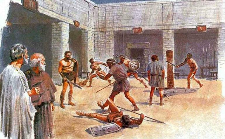 рабовладельческая формация картинки древние