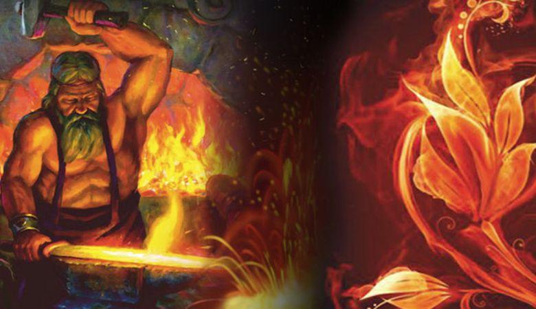 Картинки гефест бог огня и кузнечного делать