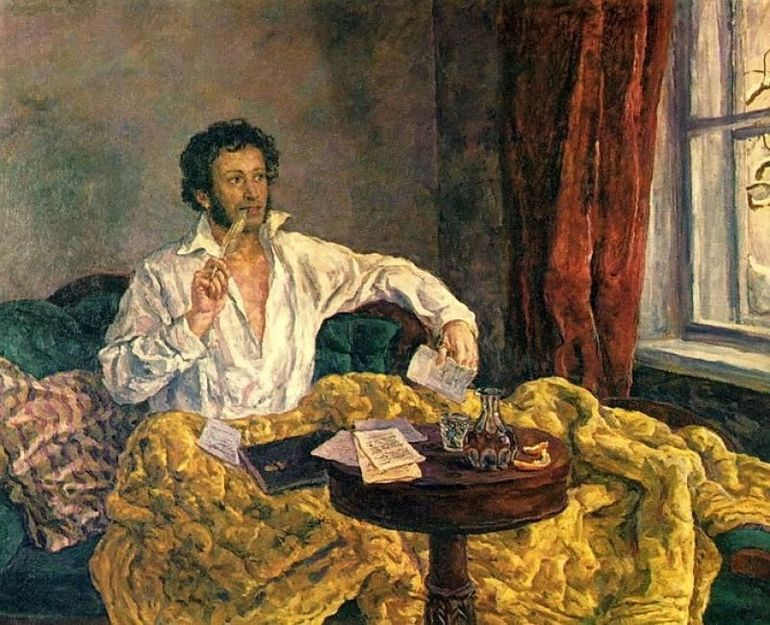 Сочинение на тему мой любимый стих пушкина