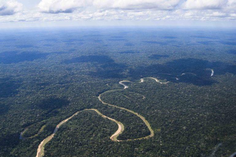 Река в южной америке