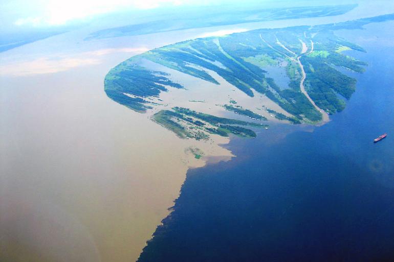 Река в южной америке на о