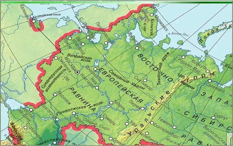 Равнины Восточно-Европейская
