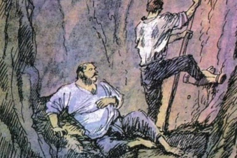 Картинки жилин и костылин в плену