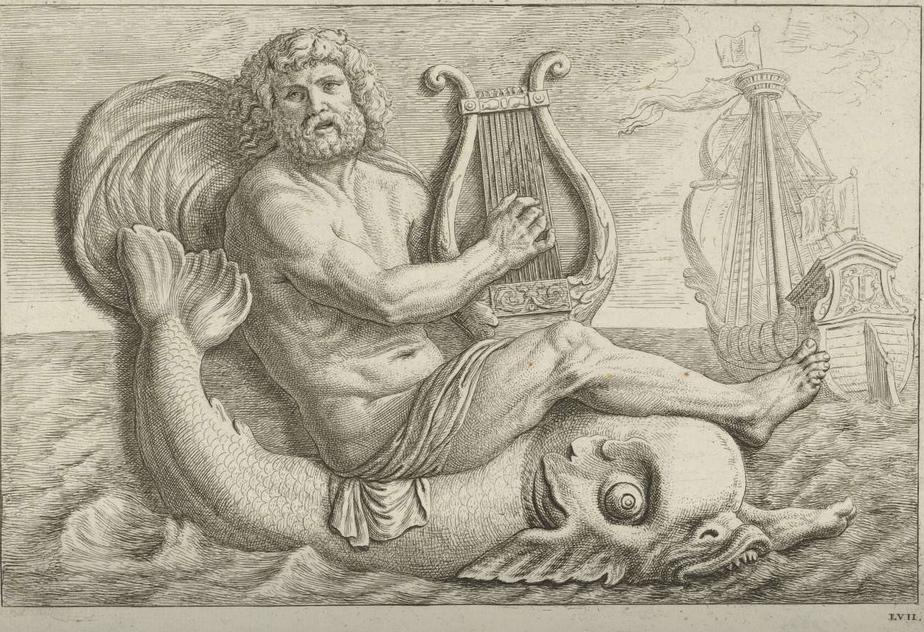 иллюстрации о легенде об арионе рецептах слабосоленой