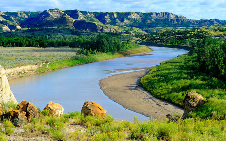 Где находится река миссури
