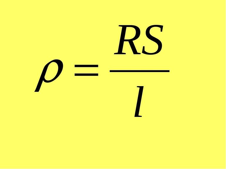 Зависимость силы тока от напряжения формула