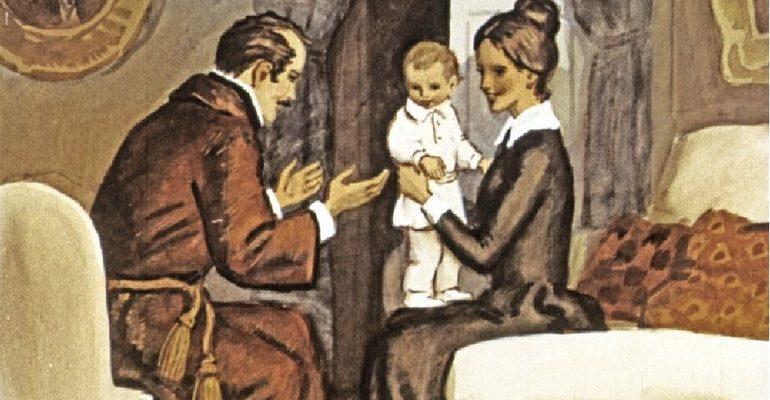 Детство Толстой характеристика главных героев