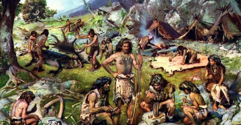 Период палеолита (каменного века)