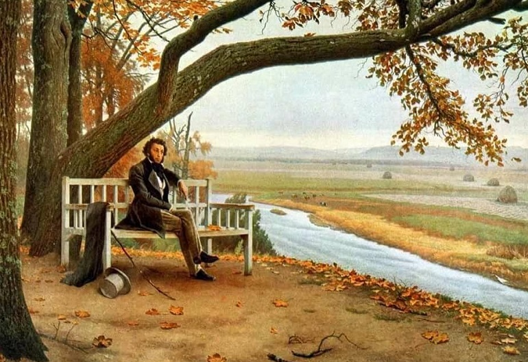 Стихи Пушкина про осень - короткие и красивые