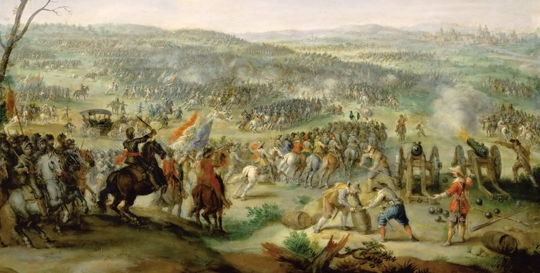 Тридцатилетняя война в Европе