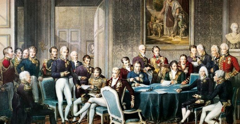 Венский конгресс 1814 1815