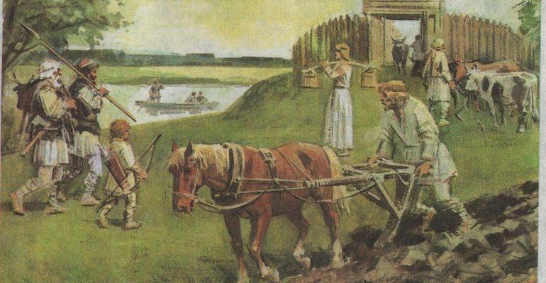 Восточнославянские племена