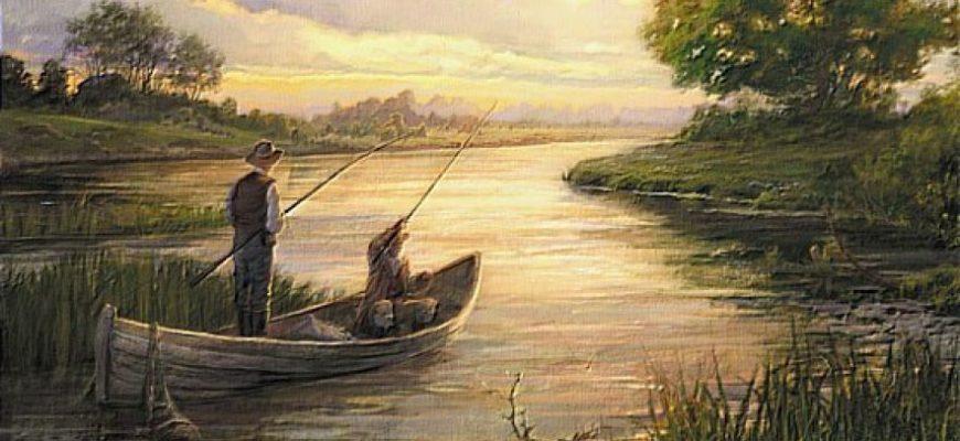 Стихи про рыбака и рыбалку