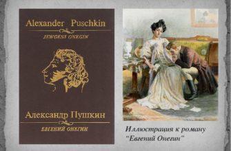 Александр Сергеевич Пушкин в «Евгений Онегин»