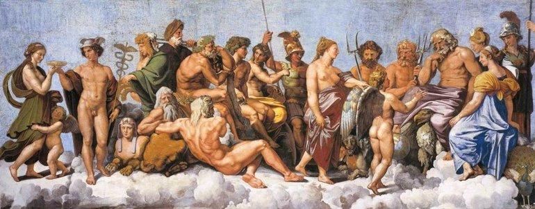 Боги древнего Рима