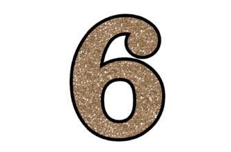 Стихи про цифру 6