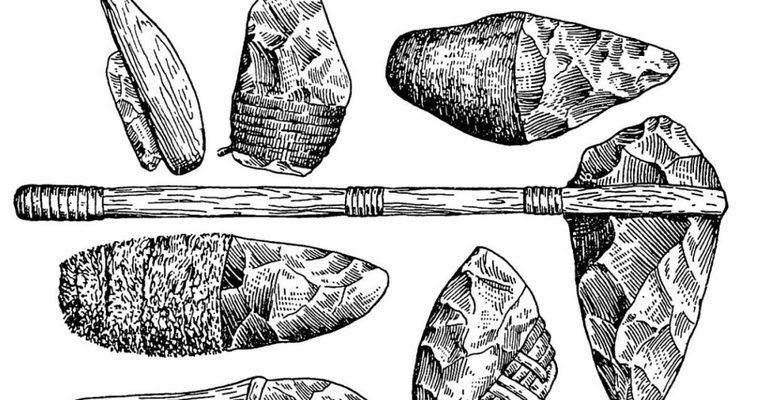 Древние люди как жили орудия труда