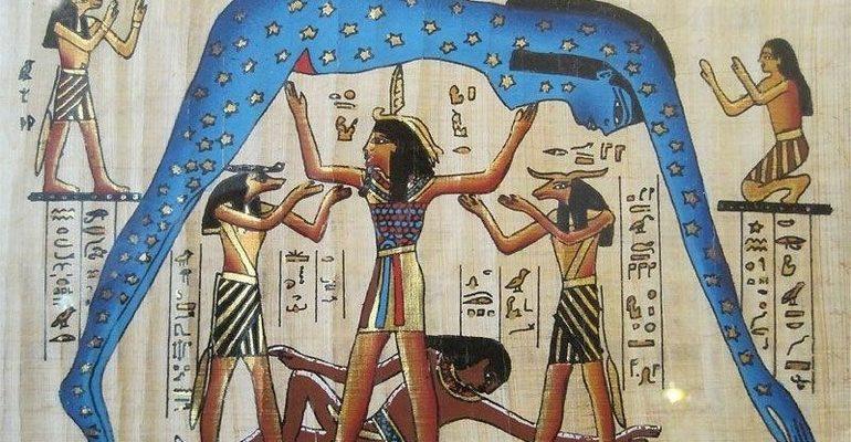 Нут богиня Египта