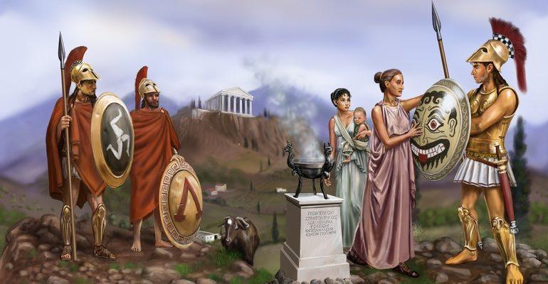 Общественный строй Древней Спарты