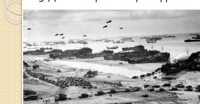 Открытие второго фронта во второй мировой войне