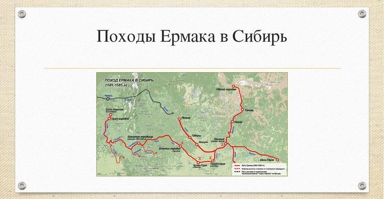Поход Ермака в Сибирь