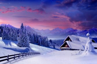 Признаки зимы для детей