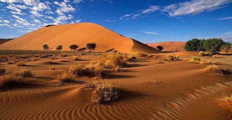 Пустыни Африки