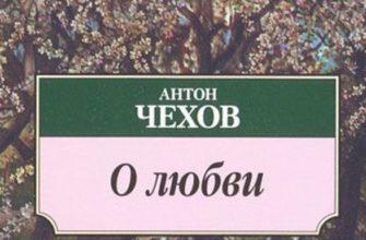 Рассказ Чехова «О любви»
