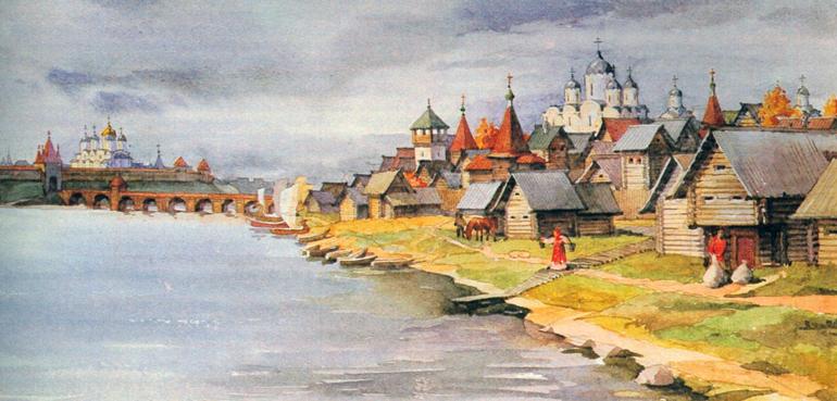 Русь в 13 веке