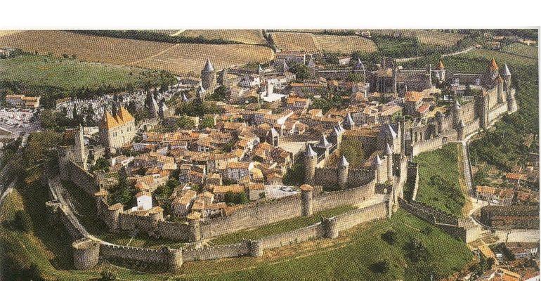 Средневековый город в Европе