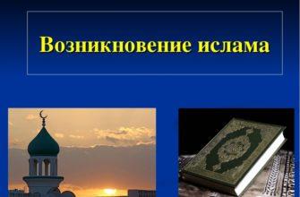 Возникновение ислама