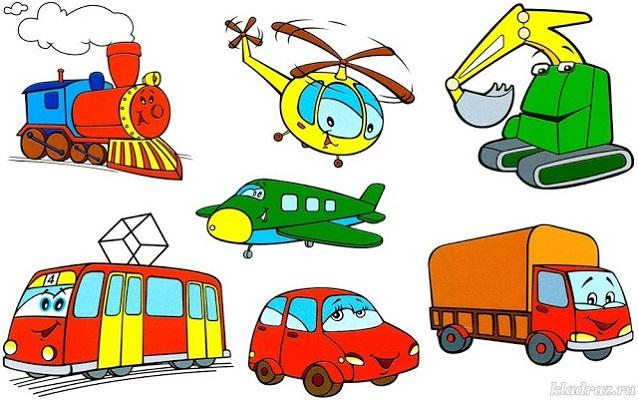 Загадки про транспорт для детей (с ответами)