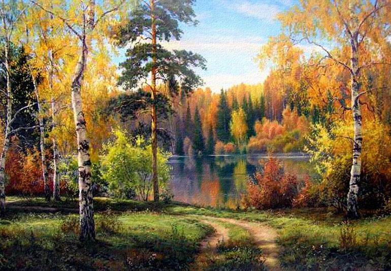Стихи Сергея Есенина о природе