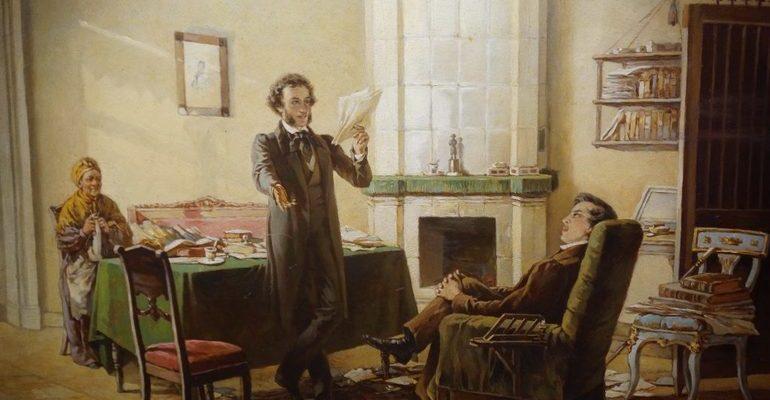Анализ стихотворения пушкина пущину