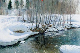 Анализ стихотворения весенние воды
