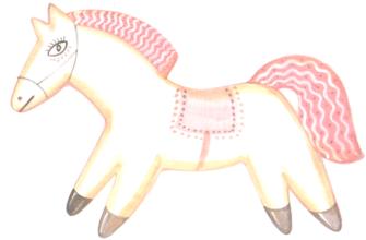 Астафьев конь с розовой гривой
