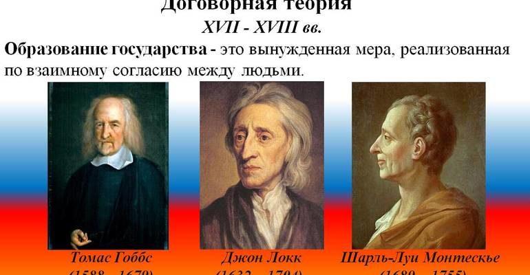 Договорная теория происхождения государства