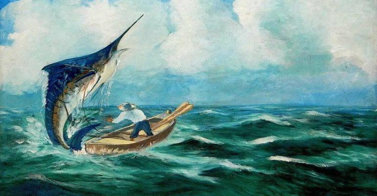 Хемингуэй старик и море смысл произведения