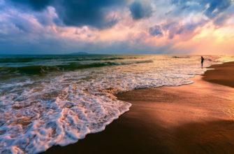 Какие моря омывают европу