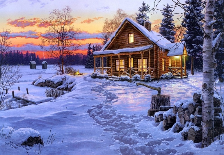 Короткие стихи про зиму