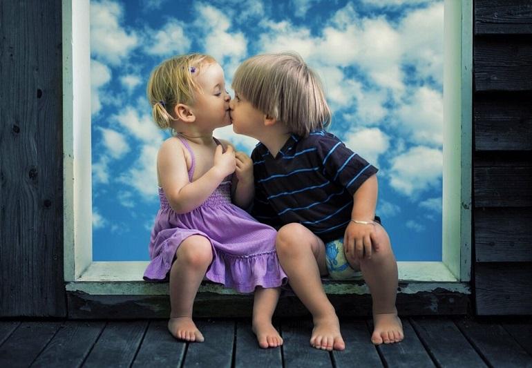 Стихи про поцелуй