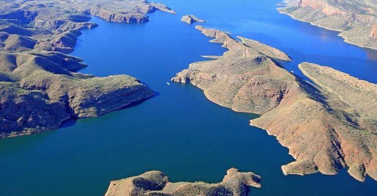 Крупные реки и озера австралии