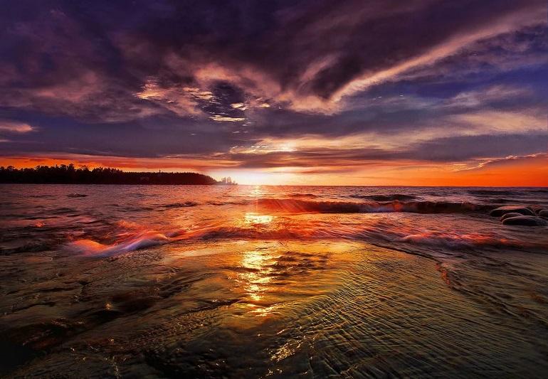 Стихи про закат