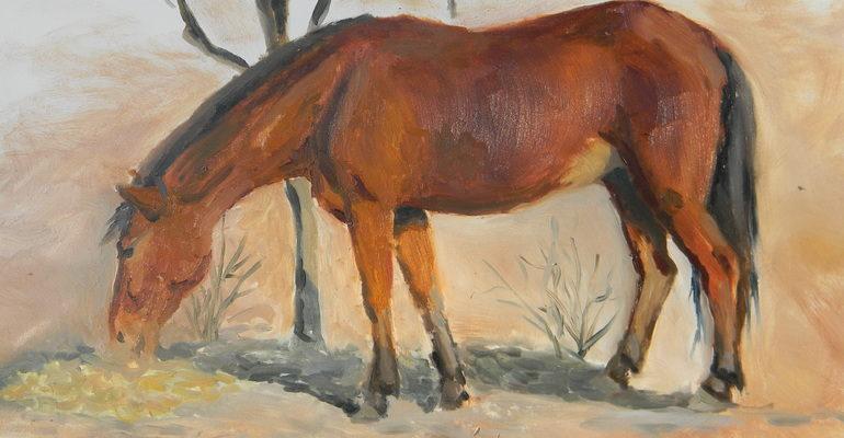 О чем плачут лошади краткое содержание