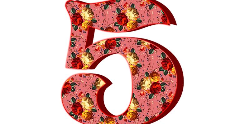 Пословицы и поговорки про цифру 5