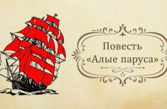 Повесть А. Грина «Алые паруса»