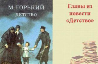 Повесть Горького «Детство»