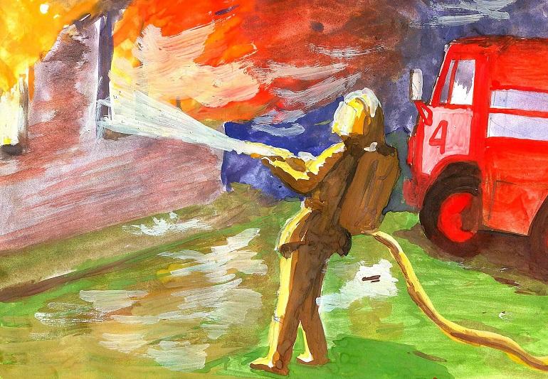 Стихи о пожарных спасателях и пожарную безопасность